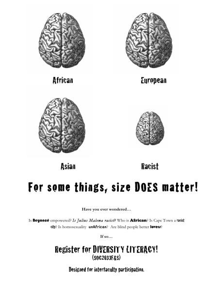 Diversity Literacy poster