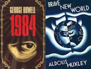 1-10 1984 vs Brave New World