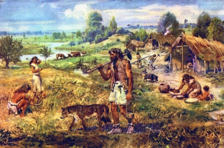 Zdenek Burian, A Neolithic Settlement