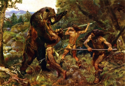 Zdenek Burian, Hunting the Cave Bear