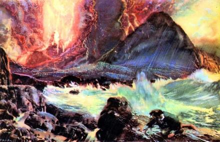Zdenek Burian, Volcanoe