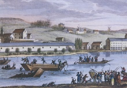 Noyades de Nantes sous la terreur