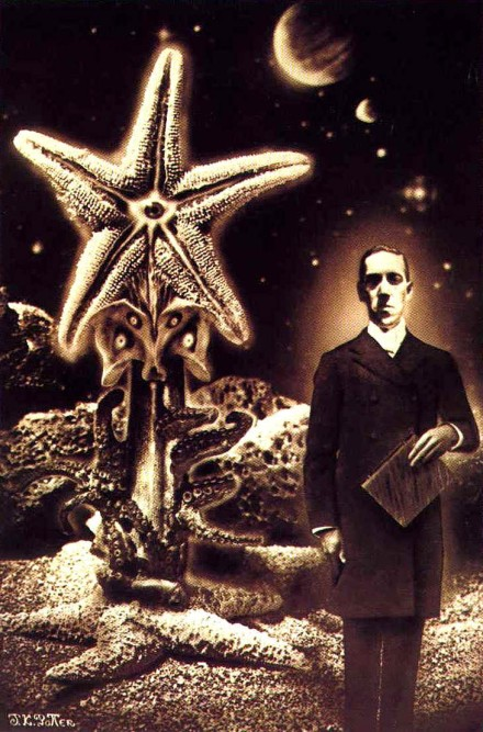 Lovecraft painting